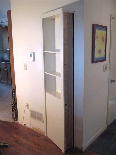 Secret Door In Closet Closet Door Hinges Home Design Ideas
