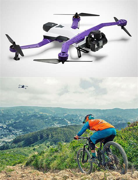 Drone Airdog airdog adii drone can autonomously follow you around is