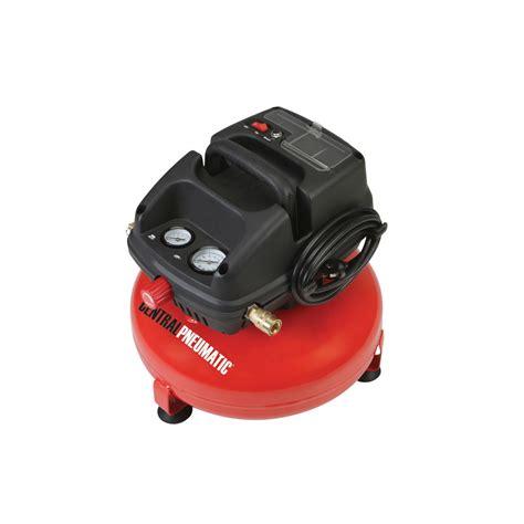 3 gal 1 3 hp 100 psi oilless pancake air compressor