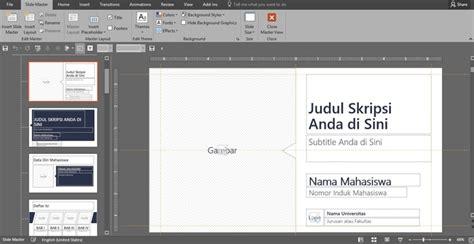 cara membuat judul skripsi termudah membuat presentasi skripsi