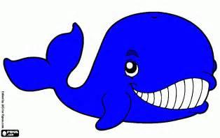 kolorowanka wieloryb rysunek druku wieloryb