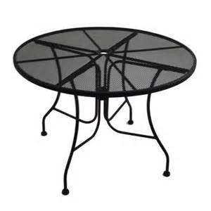 Menards Patio Table Backyard Creations Wrought Iron Table At Menards 174