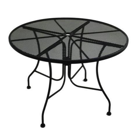 Backyard Creations Wrought Iron Table Backyard Creations Wrought Iron Table At Menards 174