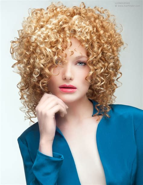Images Of Hair | shoulder length hair with spirals and corkscrew curls
