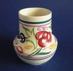 Vintage Pottery Vase Vintage Poole Pottery Le Pattern Vase By Truda Carter C1960