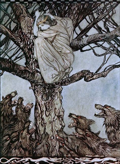 arthur rackham a life 1862058946 17 best ideas about wolves art on wolf drawings wolves and death art