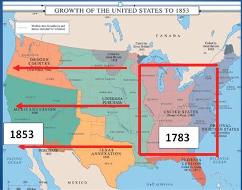 manifest destiny map history with rivera 1 31 13 westward expansion manifest destiny