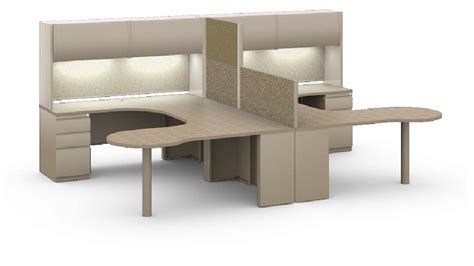 two person peninsula desk the office leader mayline csii modular 2 person
