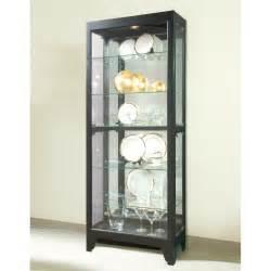Pulaski Curio Cabinets For Sale Pulaski Onyx Bunching Curio Cabinet At Hayneedle