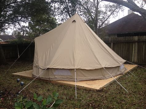 Tent Deck | build the deck pitch the tent tent instead of rent