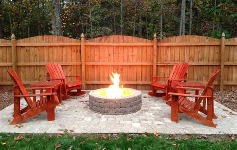 patio and firepit ideas concrete patio ideas with pit designs landscaping