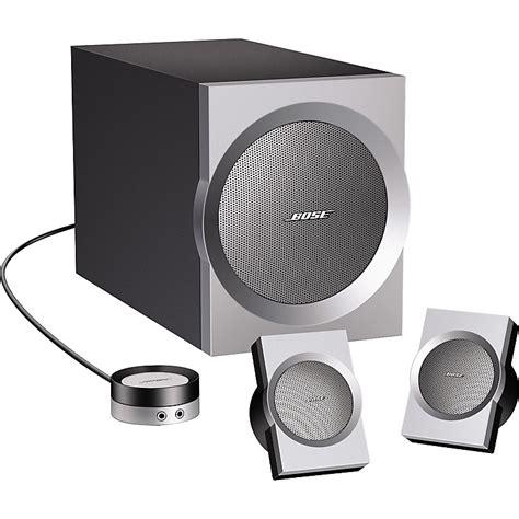 Speaker Bose Companion 3 Bose Companion 3 Multimedia Speaker System Musician S Friend