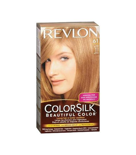 what hair colour age 61 buy revlon colorsilk beautiful color dark blonde 61 from