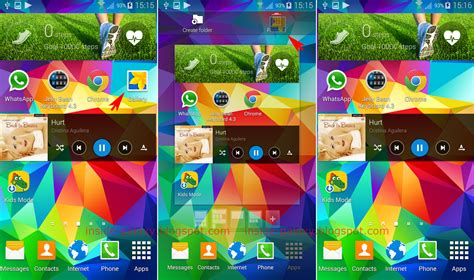 samsung galaxy s5 how to add rearrange and remove apps