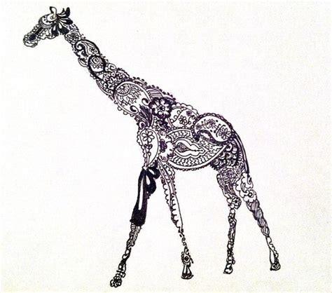 henna tattoo giraffe just because i love giraffeszzz paisley giraffe tattoo