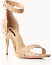 High Heels Justino Tr 57 Brown asos hong kong heeled sandals with metal trim in beige