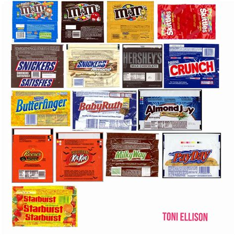 toni ellison halloween candy wrapper templates