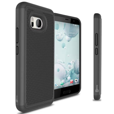 Htc U Ultra Note 6 Back Casing Design 033 black black for htc u 11 u11 hybrid shockproof phone cover ebay