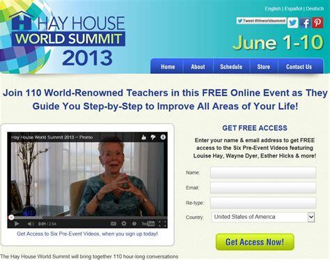 hay house world summit health mot