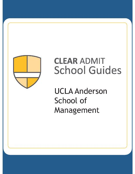 Ucla Mba Data Analytics by School Guide School Of Management