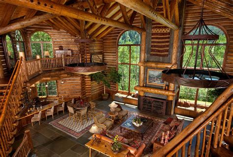 luxury log homes interiorimages modern luxury log home