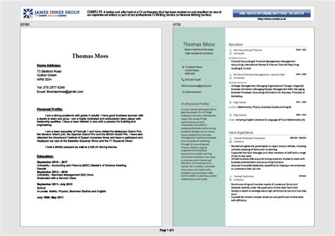 cv templates for matriculants professional cv writing services we write you the