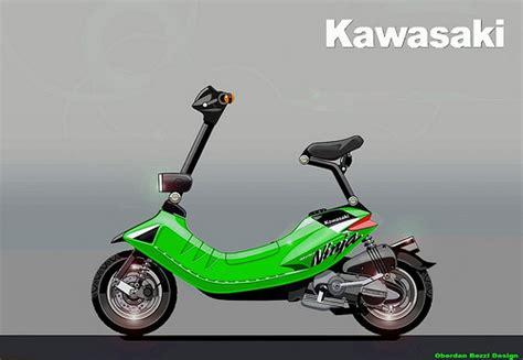 Kawasaki Scooters by Kawasaki Scooters Car Interior Design