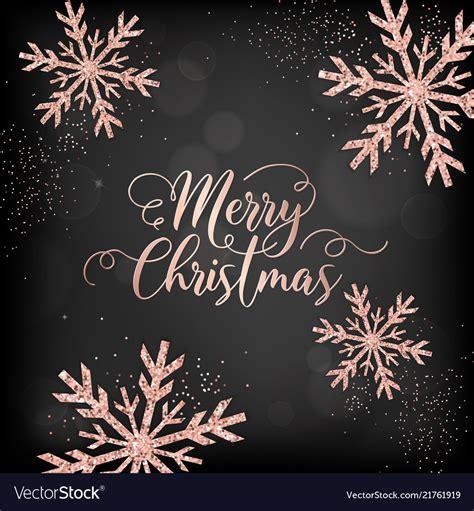 merry christmas card invitation   vector image