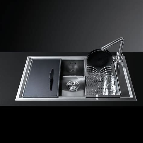 barazza lavello barazza lavello easy kit accessori incasso da 86x50