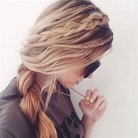 hairstyles for long hair with side braids pretty side braid hairstyles popular haircuts