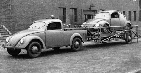 vw beetle factory pickup   wheel car hauling