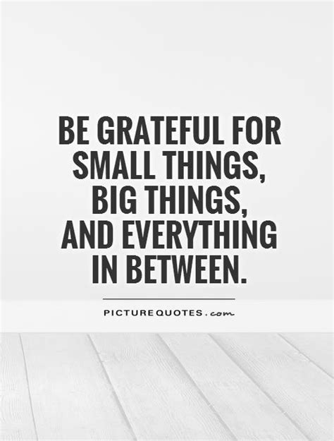 Be Grateful For The Little Things Don T Overthink A Lot - quotes and sayings being thankful quotesgram