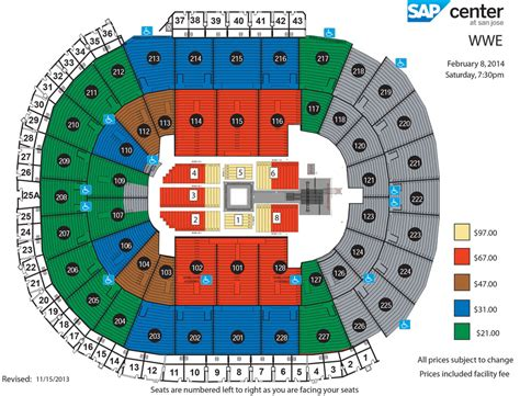 sap center seating chart sap center live