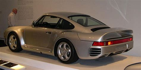 80s porsche 959 memorable 80s cars