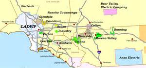 socal ev utility service territories