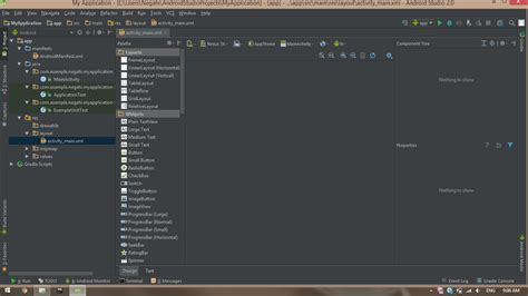 android studio tutorial stackoverflow why android studio 2 do not display layout in design