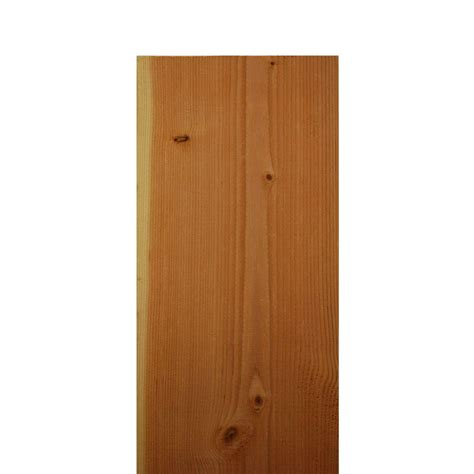 1 in x 8 in x 8 ft pine common board 914835 the home