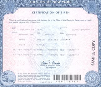 City Of New York Vital Records Birth Certificates 7 Best Images Of New Jersey Birth Certificate Copy Birth Certificate Look Like
