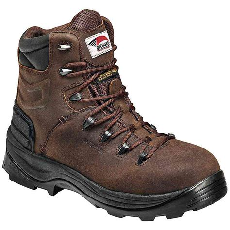 waterproof work boots avenger a7270 s insulated waterproof work boot