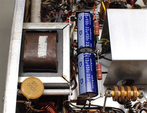 equalizing resistors capacitors the johnson viking ranger restoration
