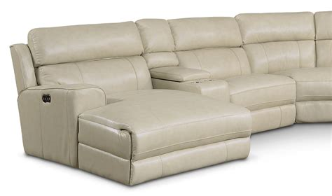 newport sectional newport 6 piece power reclining sectional with left facing