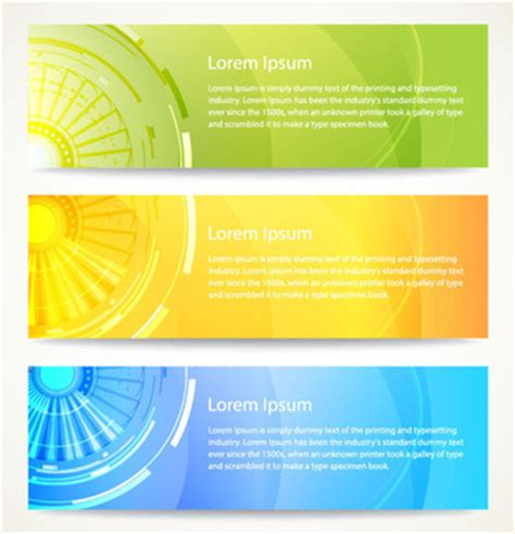 design banner in coreldraw abstract banners corel draw free vector download 106 424