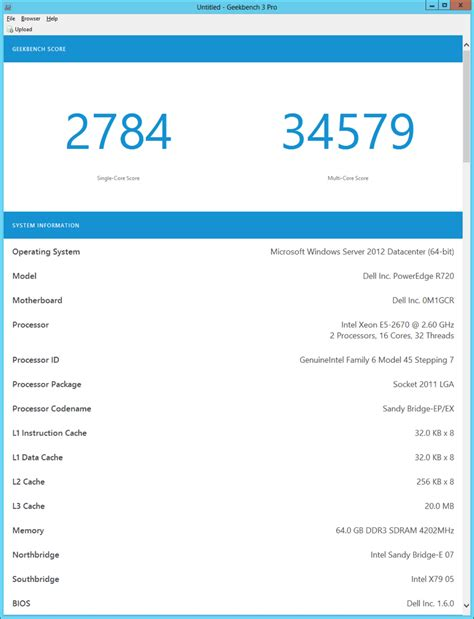 geek bench 3 using geekbench 3 to evaluate database server performance
