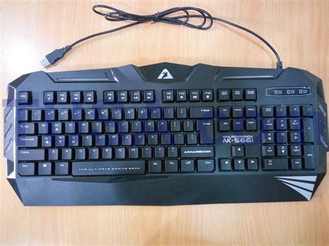 Keyboard Gaming Armaggeddon Ak 566i Kalashnikov 1 Jual Keyboard Gaming Armaggeddon Kalashnikov Ak 566i