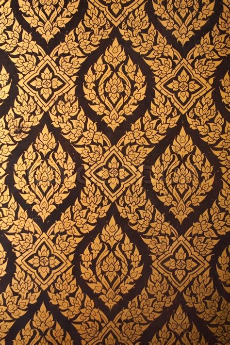 thai pattern history pattern paint thai stock photo colourbox