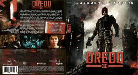 Cover A by Dredd 3d German Dvd Cover 2012