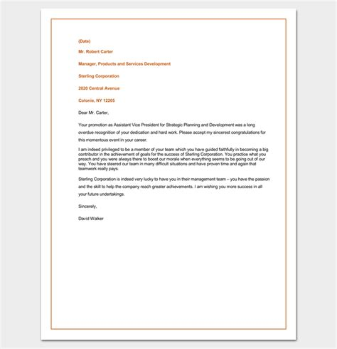Response Congratulation Letter Congratulation Letter Template 18 Sles For Word Pdf Format