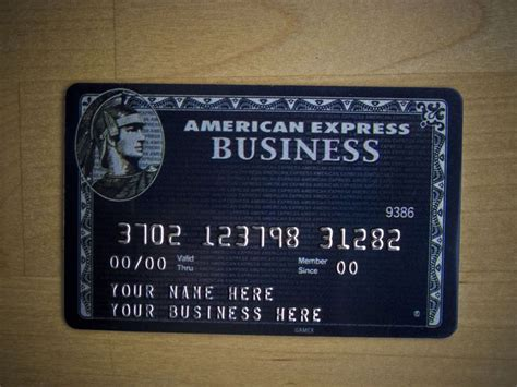 Business Centurion Card From American Express