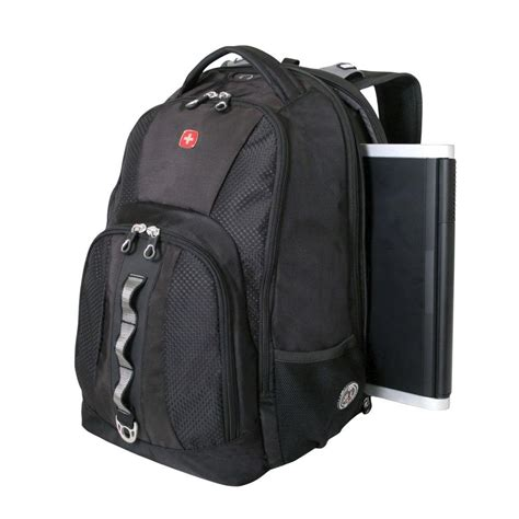 swissgear black scansmart backpack 12712215 the home depot