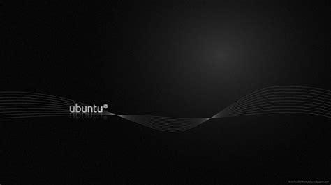 wallpaper black ubuntu dark ubuntu wallpapers wallpaper cave